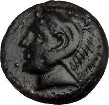 Philippi 357BC Ancient Greek Coin Tripod of Apollo & HERCULES Grapes i37419