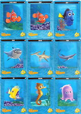 FINDING NEMO DISNEY FILMCARDZ 2003 ARTBOX COMPLETE BASE FILM CARD SET OF 72