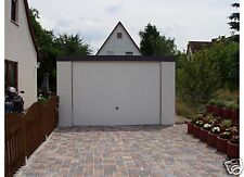 Garage 4,00x5,95 Fertiggarage Garagen Fertiggaragen 1a