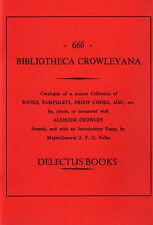 Bibliotheca Crowleyana - Aleister Crowley Bibliography