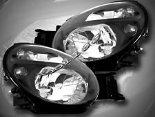 02 03 04 SUBARU IMPREZA CRYSTAL JDM BLK HEADLIGHTS LAMP