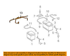 MERCEDES OEM 09-10 CL63 AMG-Battery Cable 2214400708