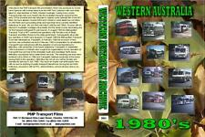 3004. Perth. Western Australia. Buses. Rail. 1980s. Cine film by Alan Mortimer w