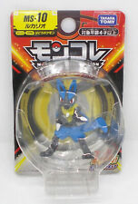 """LUCARIO Pokemon MONCOLLE MS-10 2"""" Figure TOMY Japan New on Card"""