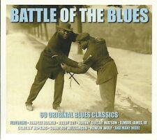 BATTLE OF THE BLUES - 60 ORIGINAL BLUES CLASSICS - 3 CD BOX SET BUDDY GUY & MORE