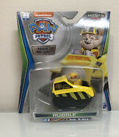 Paw Patrol Rubble Mission Paw True Metal Diecast Vehicle 1/55 Scale NEW