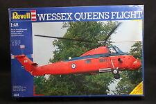XQ028 REVELL 1/48 maquette helicoptere 4484 Wessex Queens Flight année 1989