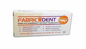 REMPLACER une dent manquante avec FABRICADENT pour 20 créations de dents