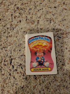 Garbage Pale Kids cards Adam Bomb, Nick etc159 cards 1985 + frayed med condition