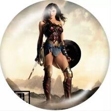 Wonder Woman Skyfire Sneaker Charm