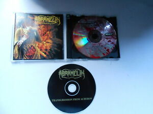 ABRAMELIN - ABRAMELIN & TRANSGRESSION FROM ACHERON-2 CD SET-AUSTRALIA-1994
