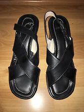 Coach Wedge Sandals Size 8.5