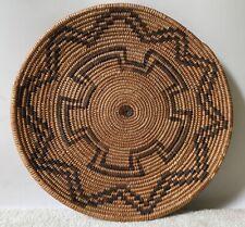 New listing Antique Havasupai 12� Basket Tray, c. 1900-20s