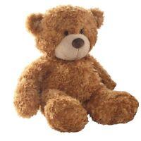 """9"""" Brown Bonnie Teddy Bear Soft Toy - Aurora 9inch"""