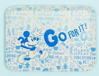 "Disney Mickey Mouse Blue ""Go For It"" Tray"