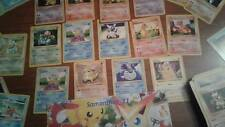 Pokemon Card Lot - Generation 1+2. Base set / Jungle / Fossil | Shadowless NM/M