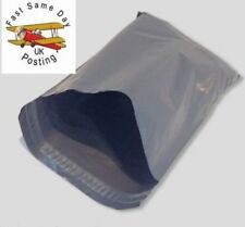 """50 STRONG GREY MAILING POST MAIL POSTAL BAGS POLY POSTAGE SELF SEAL 9x6"""""""