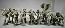 TOY SOLDIERS 1/32 CIVIL WAR CONFEDERATE FIRING LINE INFTRY FIGURE PLAYSET (16) 1
