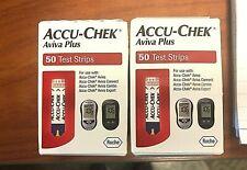 100 Accu-Chek Aviva Plus Test Strip