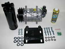 York to Sanden A/C Two Groove Compressor Conversion Kit with Heavy Duty Seltec