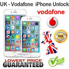 NETWORK UNLOCK CODE FOR Vodafone UK IPHONE 3 4 4S 5 5S 5C 6 6S plus 7 7+ Plus SE