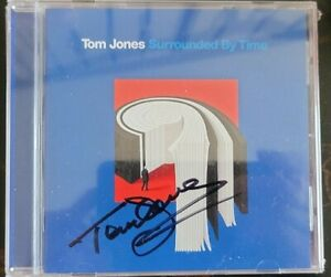 2021 TOM JONES SURROUNDED BY TIME SIGNED AUTO BRAND NEW SEALED CD