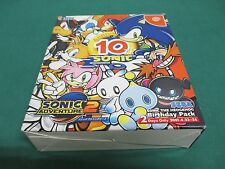 Dreamcast -- SONIC ADVENTURE 2 10TH BIRTHDAY -- JAPAN GAME Sealed & New 34147