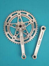 Pédalier Stronglight 49D vélo vintage 52/42 filetage 14*125 old bicycle crankset