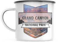 Grand Canyon Arizona National Park  12 OZ Enamel Mug Campfire Mug  Souvenir