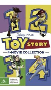Toy Story Quadrilogy 4 - Movie Collection