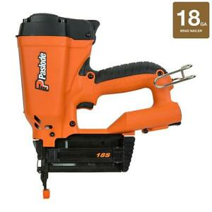 Paslode Brad Nailer Cordless Li-Ion Lightweight Reversible Belt Hook 18 Gauge
