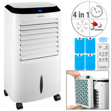 Monzana® Climatiseur mobile blanc 4 en 1 65 W télécommande réservoir d'eau 10L
