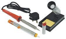 EAGLE SOLDERING IRON KIT - with Stand, Desolder Pump & Solder