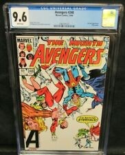 Avengers #248 (1984) Copper Age Eternals CGC 9.6 White Pages V286