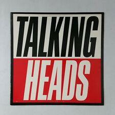 TALKING HEADS True Stories 125512 LP Vinyl VG++ Cover VG+ near ++ Sleeve WoC