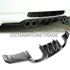 US Carbon Fiber Rear Bumper Diffuser Spoiler Fit for 07-11 BMW E92 M3 Coupe 2DR