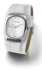 Para Hombre Lambretta isla Star Reloj de Cuero-Blanco