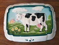 Gailstyn Sutton Towle Cow Ceramic Jello Mold Wall Hanging Kitchenware Home Decor