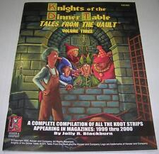 KNIGHTS OF THE DINNER TABLE TALES FROM THE VAULT VOL 3 (Kenzer) 1st PRINT (FN+)
