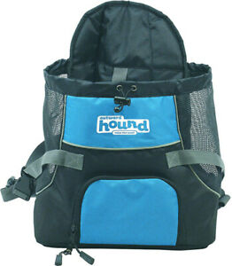 OUTWARD HOUND - Pooch Pouch Front Carrier For Dogs Blue Medium - 1 Pouch