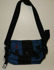 Timbuk2 Small Blue Nylon Messenger Bag With Extra Padded Shoulder Strap