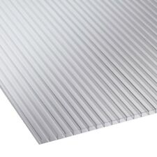 4mm Twin Wall Polycarbonate Sheet Clear, Opal, Frosted- Various Dimensions