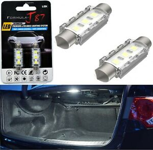 LED 5W Light CANbus 6411 White 6000K Two Bulb Trunk Cargo Replacement Plug Play