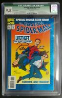 Amazing Spider-Man #388 Marvel Comics CGC 9.8 White Pages Randy Emberlin Signed