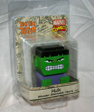 The Incredible Hulk Wooden Tiki Totem Stackable Figure Toy New NOS MIP 2017