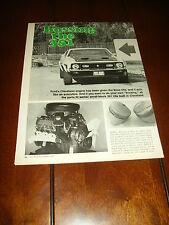 1971 FORD MUSTANG 351   ***ORIGINAL VINTAGE ARTICLE***