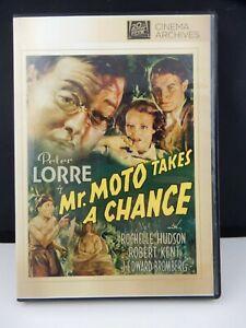 Mr. Moto Takes a Chance DVD Cinema Archives