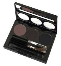COLLECTION EYEBROW KIT 3 SHADES CLEAR MASCARA BROW GEL & BRUSH BRUNETTE