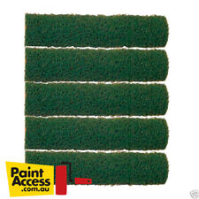 Paint Roller Covers/ Pack of 5 Oldfields Coarse Texture Green Rollers, 270mm