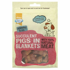 GoodBoy Pawsley 100 Natural Pigs in Blankets Treat 80g